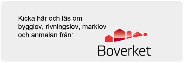 Om bygglov, rivningslov, marklov och anmälan BOEVERKET